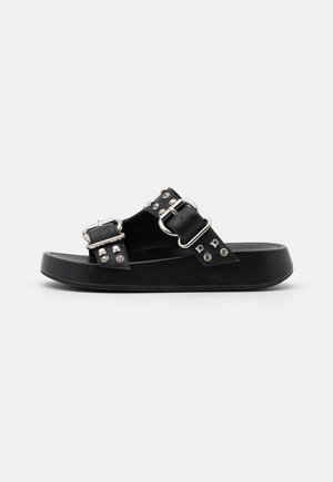 TOPAZ - Pantofle - nero