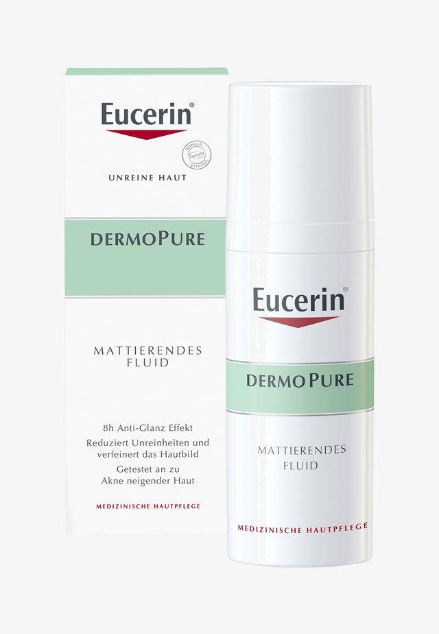 MATTIERENDES FLUID DERMOPURE, HAUTPFLEGE BEI UNREINER HAUT - Face cream - -