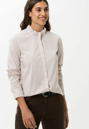 STYLE VALINA - Button-down blouse - camel