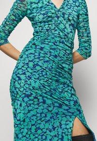 Diane von Furstenberg - BRIELLA - Shift dress - blossom breeze multi ionian - 6