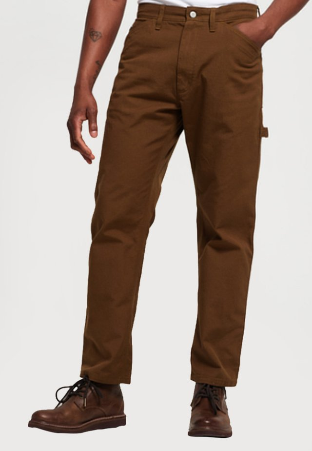 EARL - Relaxed fit jeans - tabacco