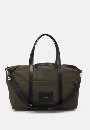 NIKA - Tote bag - khaki/black