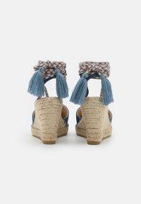 Macarena - CARLA 17 - Sandály na platformě - jeans - 3