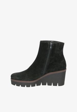Wedge Ankle Boots - schwarz