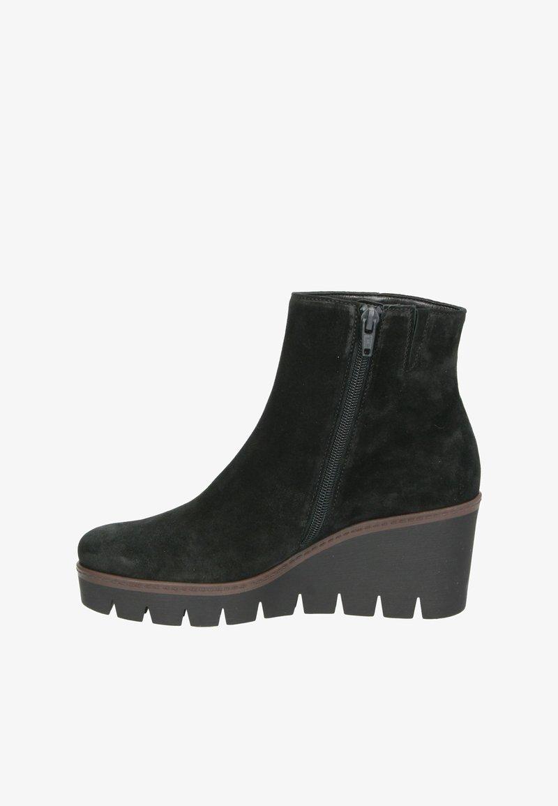 Gabor - Wedge Ankle Boots - schwarz