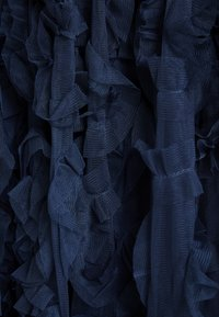 Lace & Beads - RUFFLE MIDI SKIRT - A-linjekjol - dark blue - 3