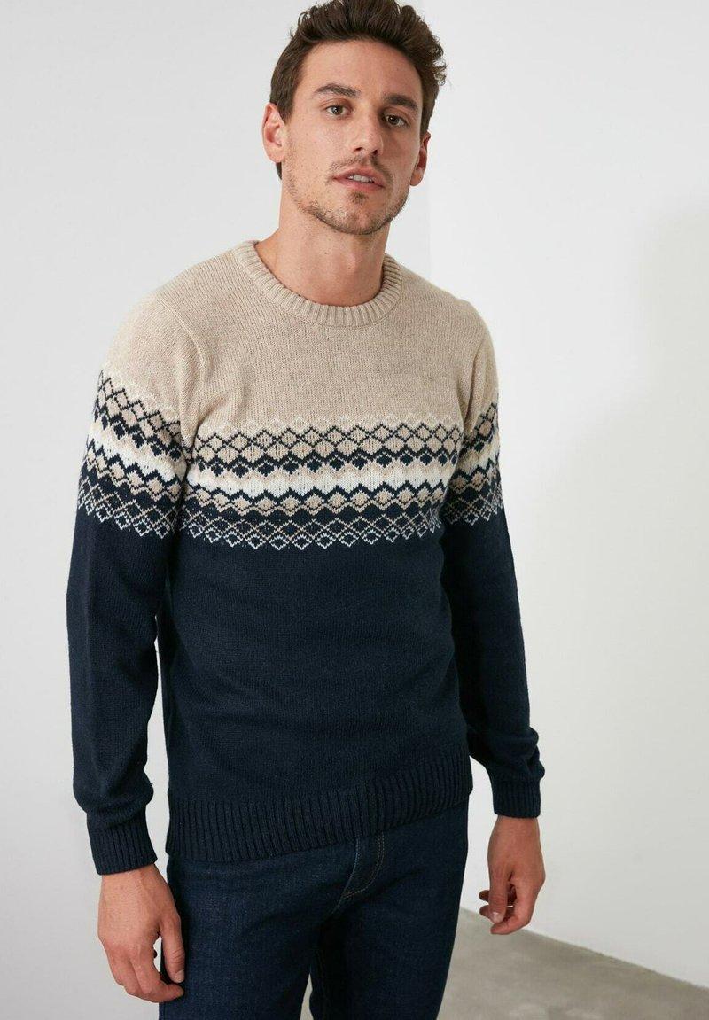 Trendyol - Pullover - navy blue