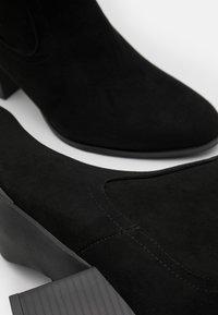Head over Heels by Dune - SELLBY - Kozaki - black - 5