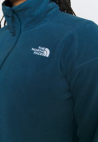 The North Face - GLACIER CROPPED ZIP - Fleece jumper - monterey blue - 4