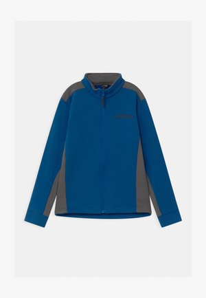 TECHNICAL FULL ZIP - Zip-up hoodie - blue eleos