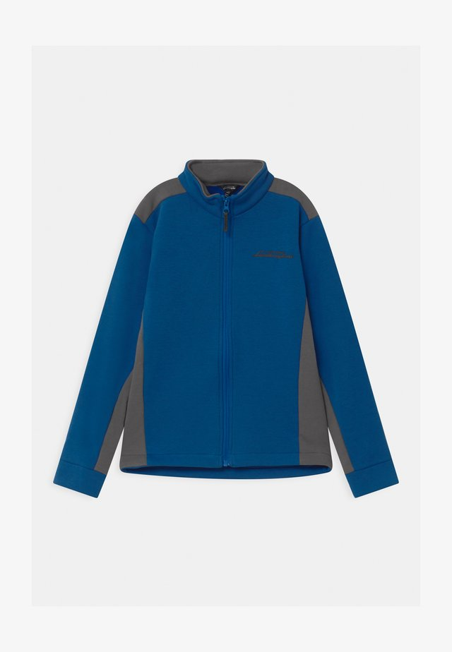 TECHNICAL FULL ZIP - Felpa aperta - blue eleos