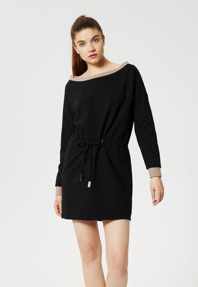 Vestido de punto - noir