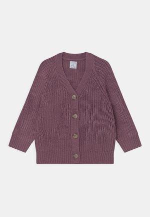 MINI V NECK - Cardigan - dusty lilac