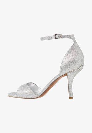 MALINDA - Sandály na vysokém podpatku - silver