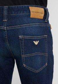 Emporio Armani - Straight leg jeans - denim blue - 3