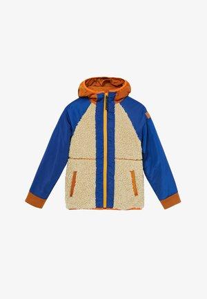 BICOLOUR - Lehká bunda - orange, light blue, grey