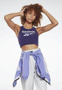 Reebok - REEBOK IDENTITY SPORTS BRA - Sports bra - purple - 0