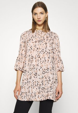 JDYCAMILLE TUNIC - Tunic - rose smoke/argan oil/black/white