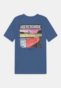 Abercrombie & Fitch - BACKHIT PRINT LOGO - Print T-shirt - blue - 1
