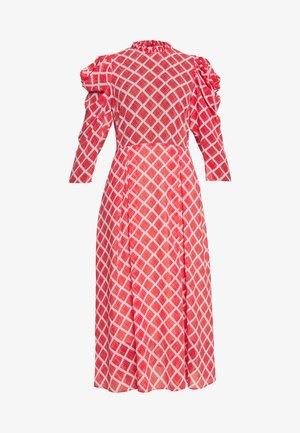 CARLA - Vestido informal - fiery red print