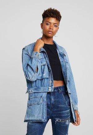 DE-MERYL - Denim jacket - indigo
