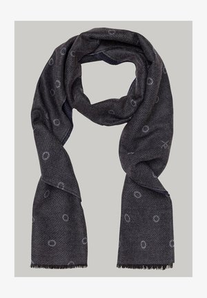 Scarf - navy/grey
