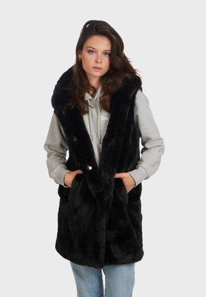 DAISY - Waistcoat - black