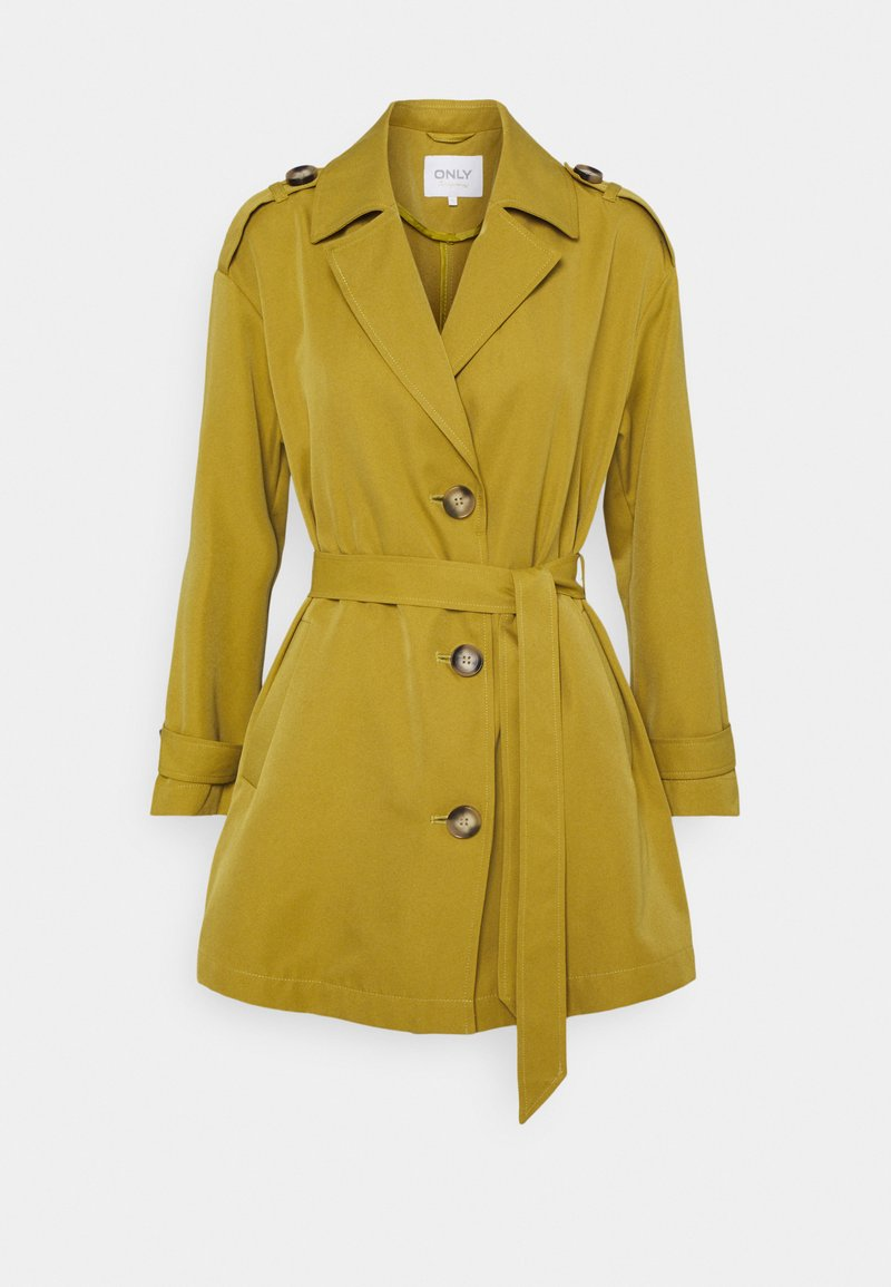 ONLY Petite - ONLLINE - Trench - ecru olive