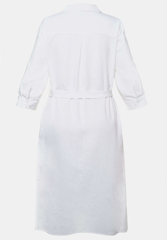 Ulla Popken Blusenkleid weiß