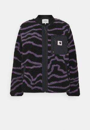 JANET LINER - Light jacket - deep freeze provence/black