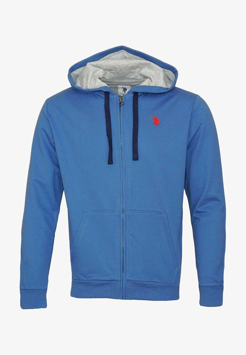 U.S. Polo Assn. - Zip-up sweatshirt - blau