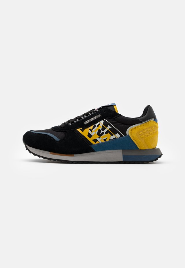 Trainers - black/avio/yellow