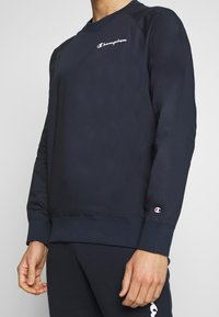 Champion - ELASTIC CREWNECK - Bluza - dark blue - 5