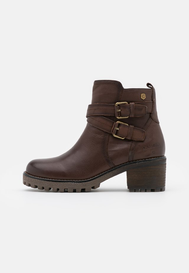 LADIES  - Stivaletti texani / biker - brown