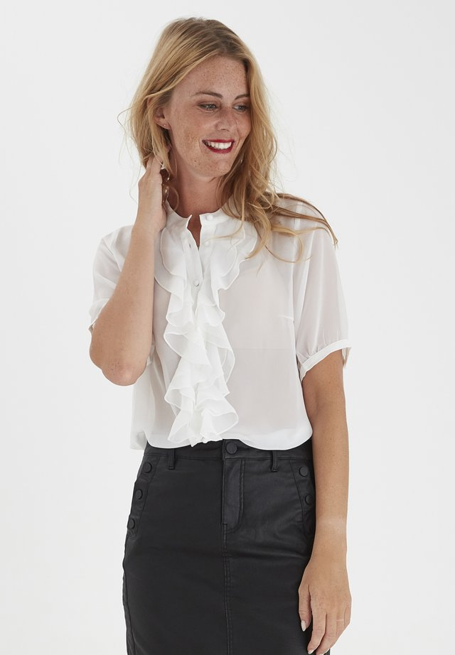 FRNAMIXO  - Button-down blouse - antique