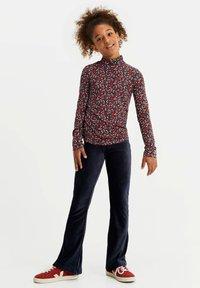 WE Fashion - Pantaloni - dark blue - 0