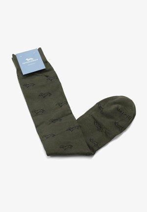 BASSOTTI - Socks - verde bosco