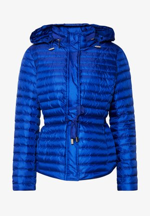 BELTED - Down jacket - twilight blue