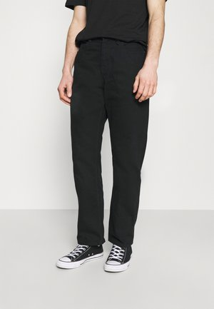 SUBSTANCE DENIM - Relaxed fit jeans - black