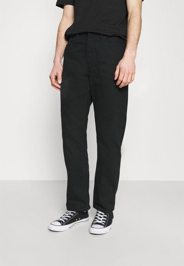 SUBSTANCE DENIM - Jeans baggy - black