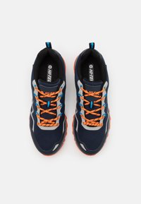 Hi-Tec - STINGER WP - Chaussures de marche - navy/royal/orange/light grey - 3