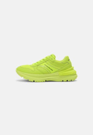 RUNNER LACEUP SNAP - Zapatillas - acid lime