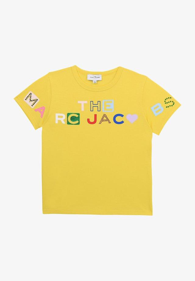 SHORT SLEEVES - T-shirt imprimé - citrus