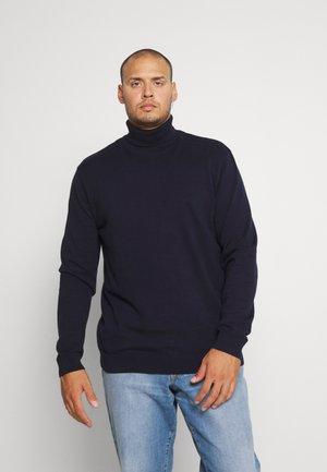 SLHBERG ROLL NECK  - Jumper - navy blazer