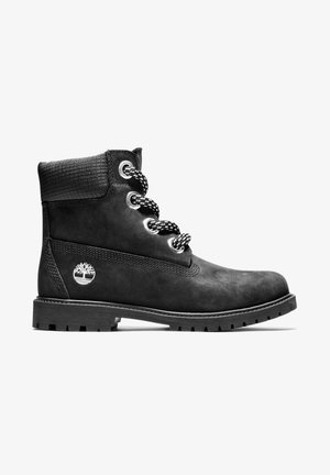 CONVENIENCE LACE BOOT - Bottines à lacets - black nubuck