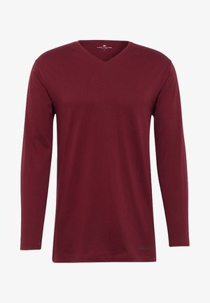 Haut de pyjama - red-dark-solid