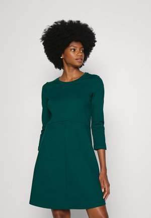 PUNTI DRESS - Jersey dress - dark teal green