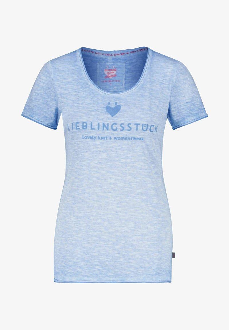 Lieblingsstück - Print T-shirt - aqua 53