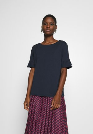 TEXTURE - Print T-shirt - navy