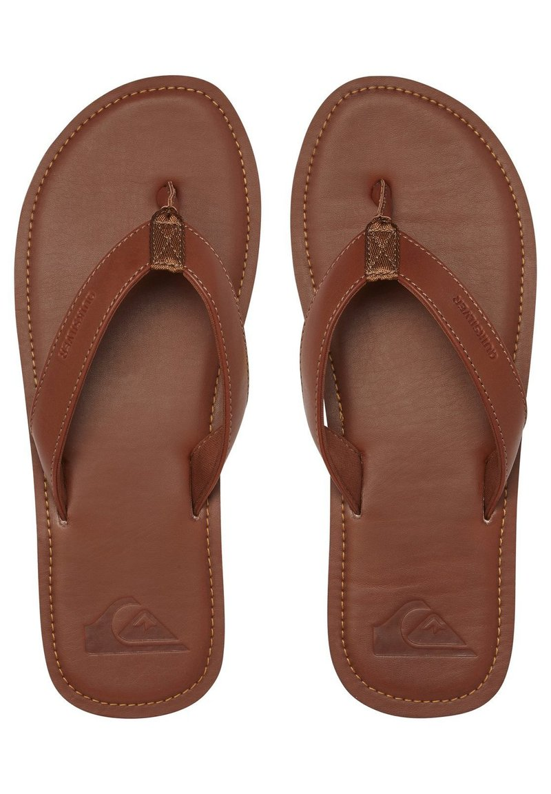 Quiksilver - Slippers - tan - solid